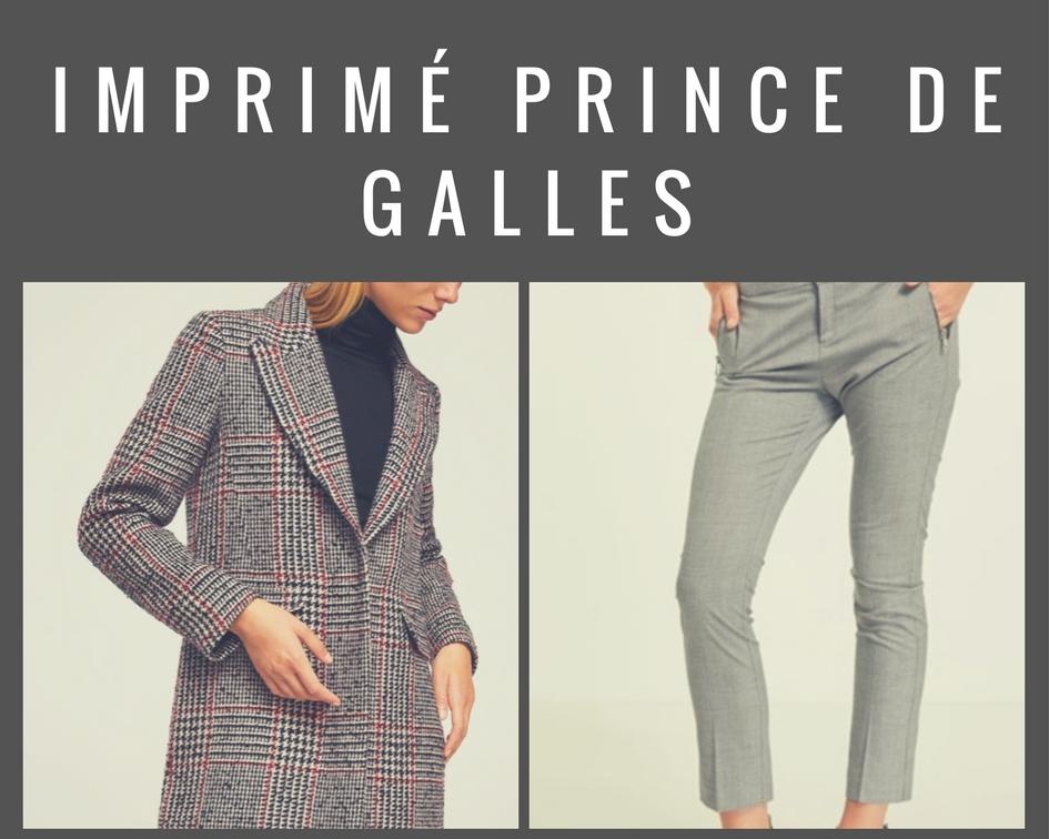 Veste et pantalon Imprimé Prince de Galles