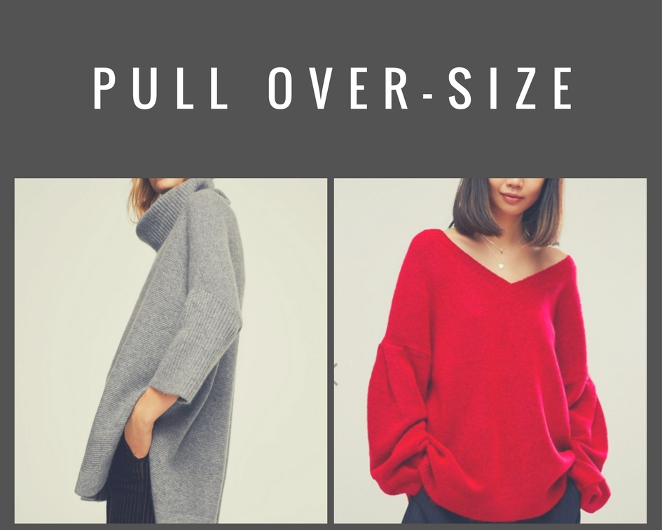 Pull over-size