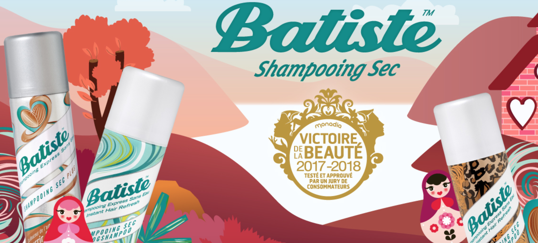 Shampoing sec Batiste