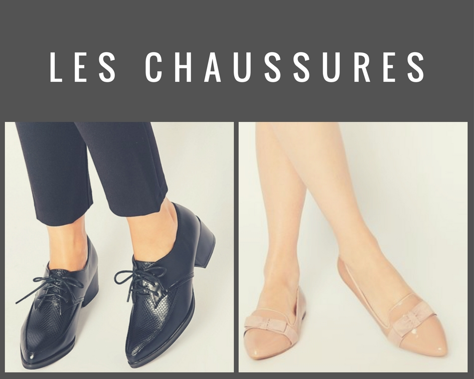 Chaussures à bouts pointus