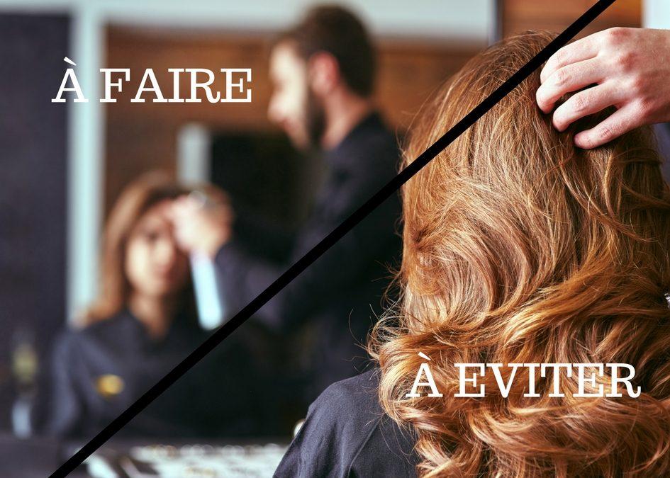5 erreurs à éviter pour avoir de beaux cheveux