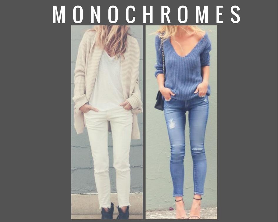 Tenues monochrome
